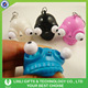 Logo-customized 3D Soft PVC Squeeze Eyes Animal Keychain, Eyes Pop Out Keychain