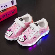 Battery operated Led shoes light Led shoes for kids baby with USB rechargeablee