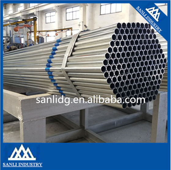 cold rolled welded thin wall steel pipe/schedule 80 galvanized steel pipe zinc ciated