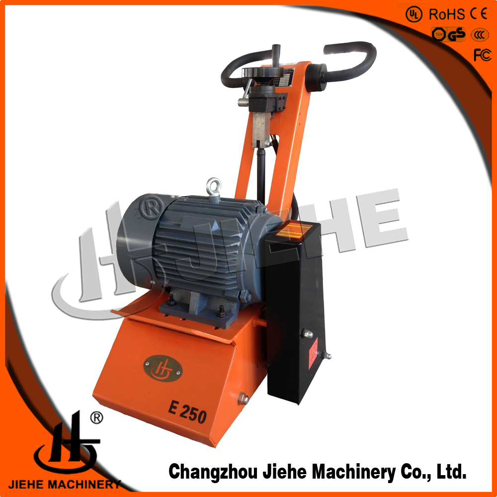 construction equipments road scarifier concrete resurfacing for floor water removal with CE JHE250
