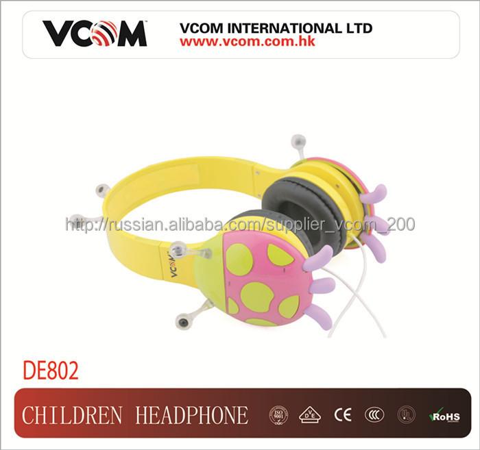 интересные детские наушники из китайского производителя Vcom