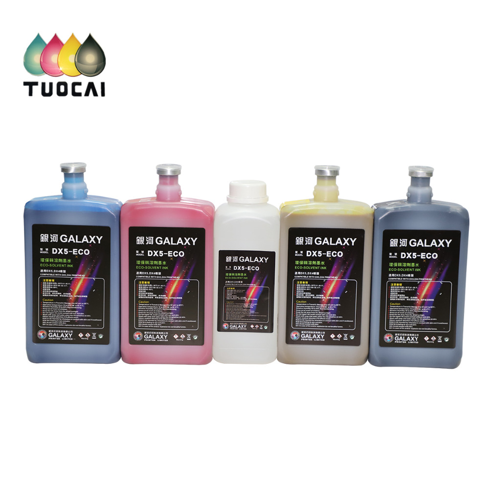 Galaxy Allwin dx4 dx5 dx7 print head eco solvent ink for Roland Mutoh Mimaki Chinese Printer