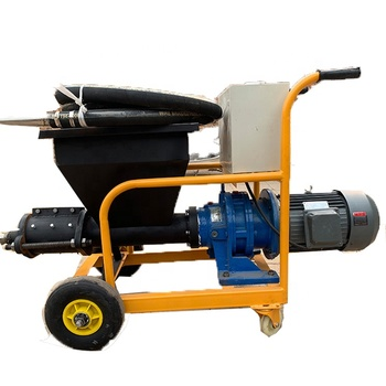High effective small mortar spraying machine