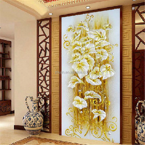 Diamond Painting Kit 30x55cm Lily Flower