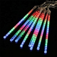 Christmas outdoor led falling snow lights for decoration