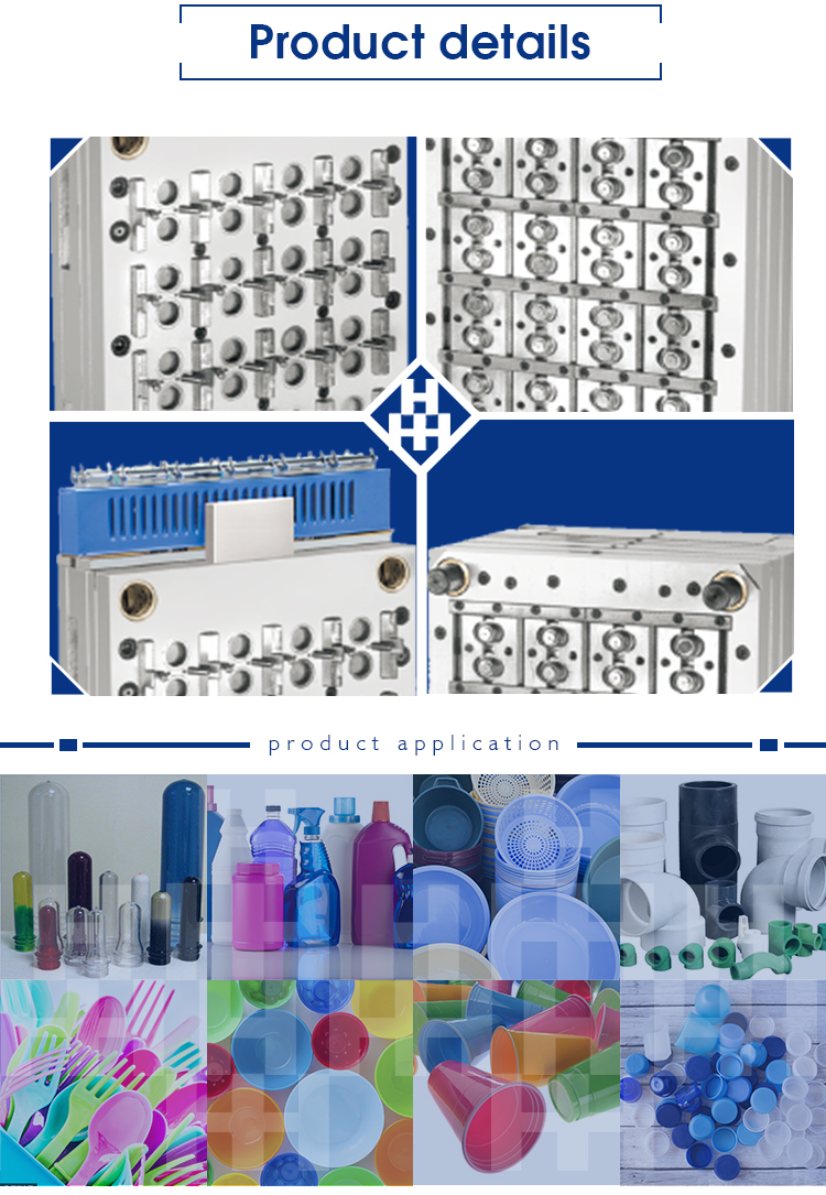 bottle cap plastic injection moulds making manufacturer