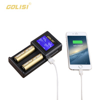 GOLISI S2 Novel Cheap Digital Battery Charger Displaying Battery Information