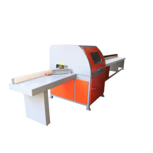 Automatic high speed wood cutting saw machine