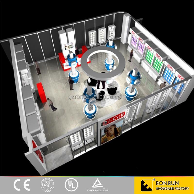 mobile téléphone boutique meubles design d'intérieur moderne ... - Meuble Pour Telephone Design