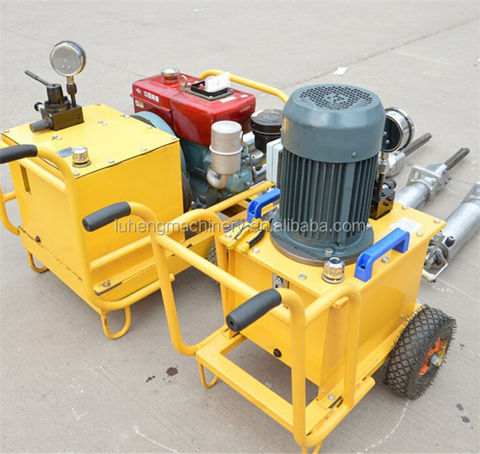 Mine Hydraulic Power Team Rock Splitter For Granite