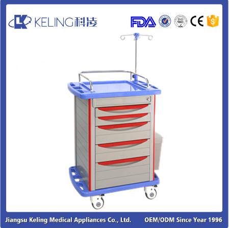 Factory Directly medical utility trolley with good price