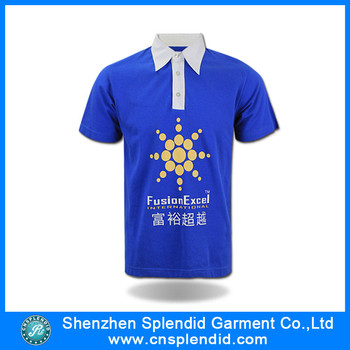Cheap High Quality Company Polo Shirts Customized Embroidered Logo