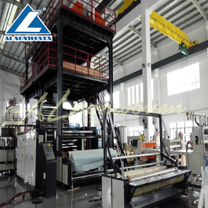 Full automatic AL-2400 S 2400mm nonwoven mask fabric machine/bags fabric making machine /bady diaper machinery
