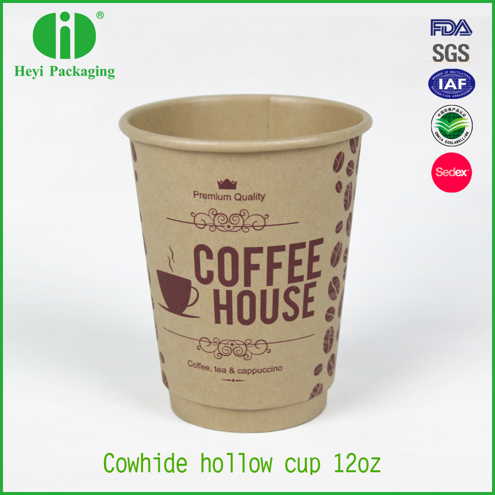paper coffee cups double wall kraft paper cup hot coffee cup
