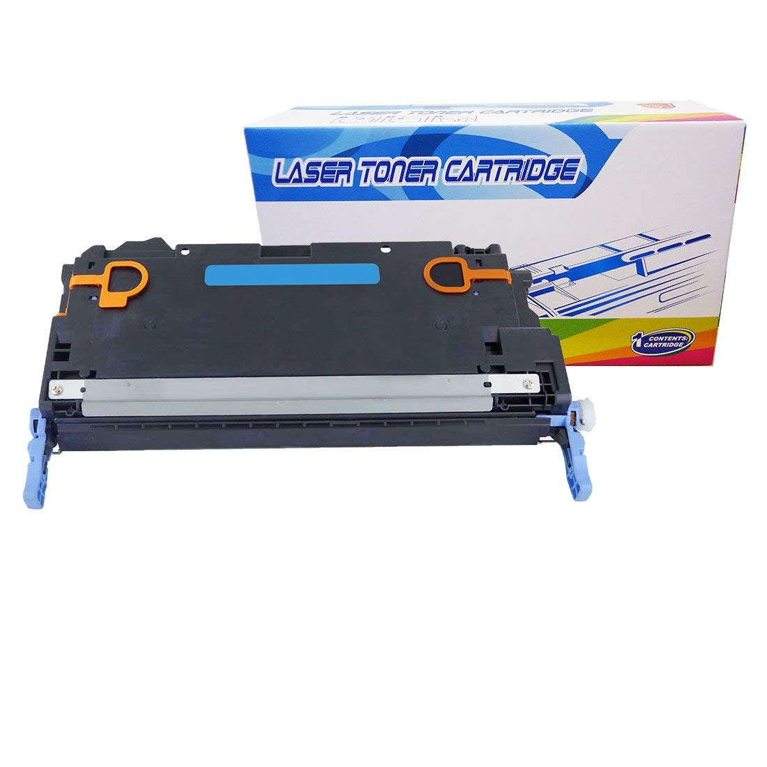 1 Inktoneram Replacement toner cartridge for HP Q6471A 502A Cyan Toner Cartridge 3600 3600dn 3600n