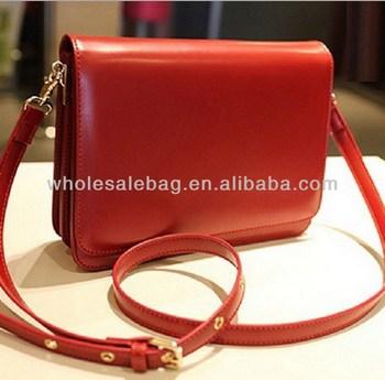 fd63e458504 Red Sling Bag With Long Belt Strap Fashion Women's High Quality Messenger  Bag Ladies Cross Body Bag - Buy Cute Messenger Bags For Girls,Long Strap ...