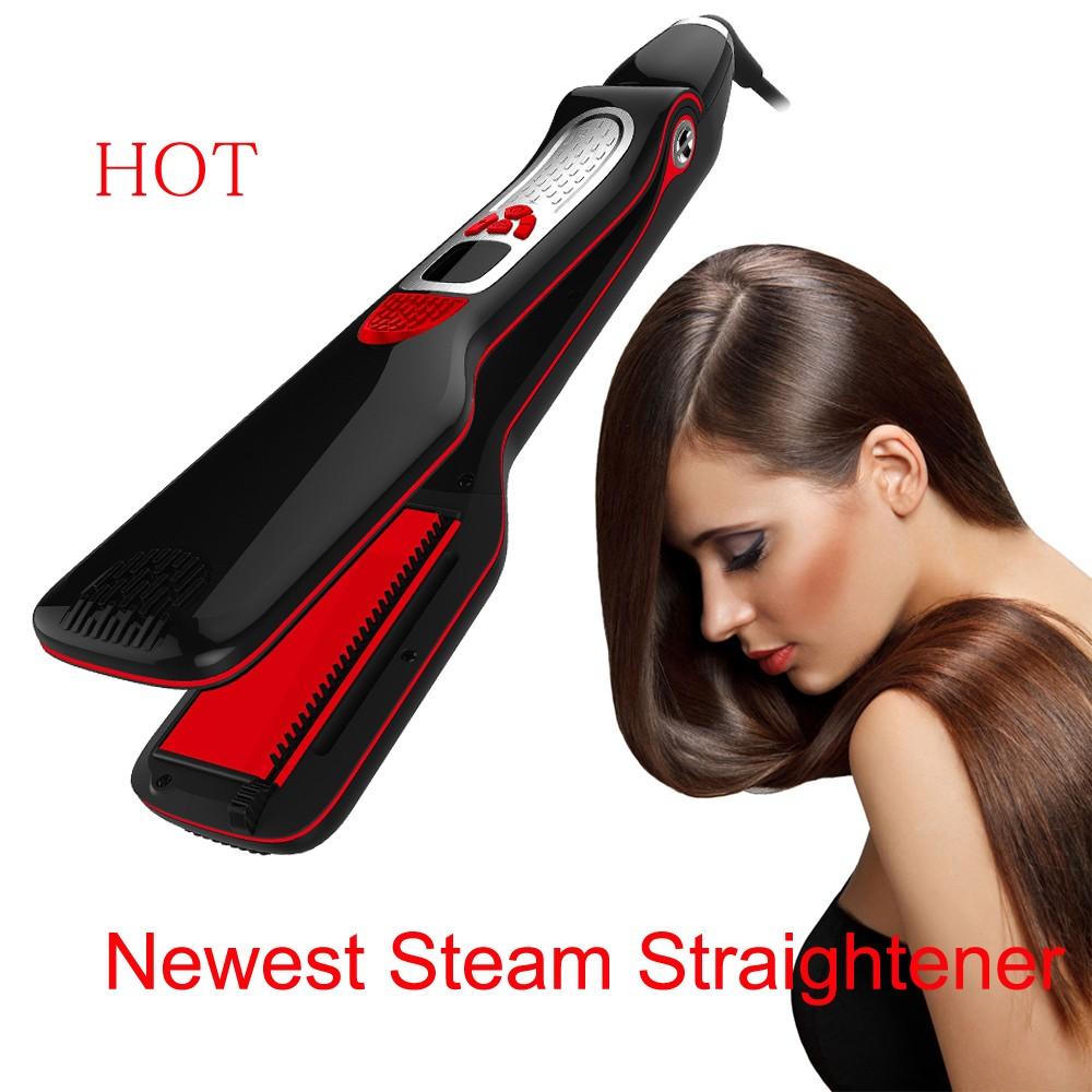 Professionnel Steampod Styler Cheveux Redresseur Fer A Vapeur Pour