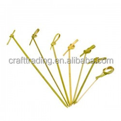 Bamboo Flower Knot Skewer
