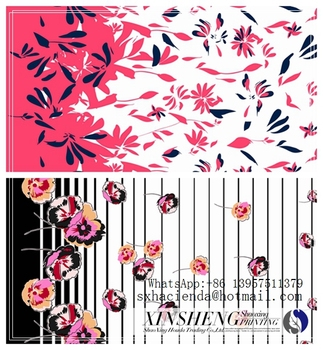 sublimation heat transfer printing paper border design for lady