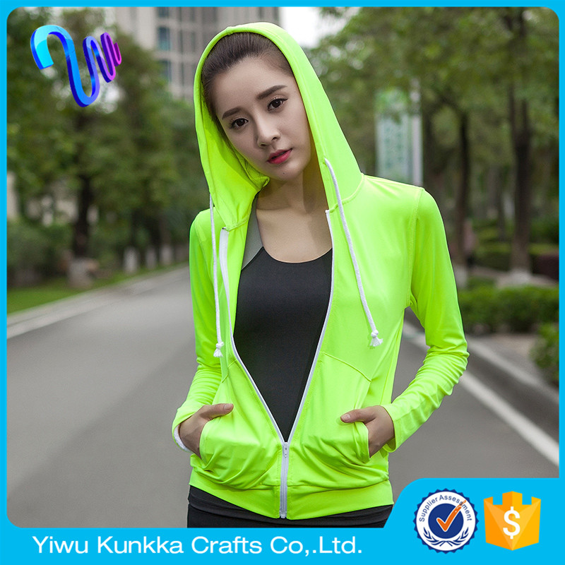Autumn New Sports Running Fitness Yoga Hoodie Jacket Blazer Wicking Quick-Drying Sweatshirt Sport Cardigan Yogaes Hoodies/Jacket