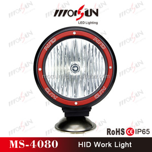 9-32V DC 35W/55W HID xenon auxiliary working lamp, high quality HID work lamp truck hid offroad light
