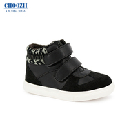 Choozii Kids Shoes Leather Boys Sport Shoes High Top Sneakers