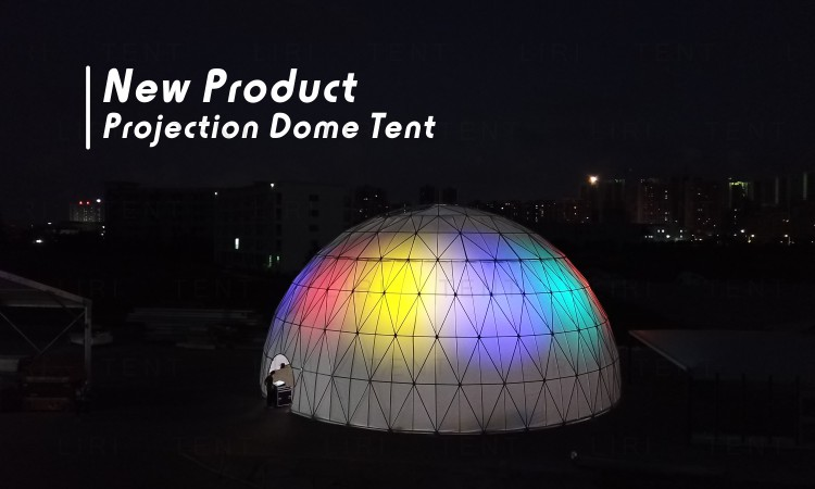 Bahrain 60m Diameter Large Waterproof Metal Frame Geodesic Dome Tent for Sale