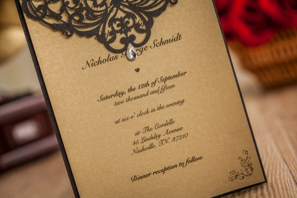 Custom print paper 2017 wedding invitations philippines for Handmade wedding invitations philippines