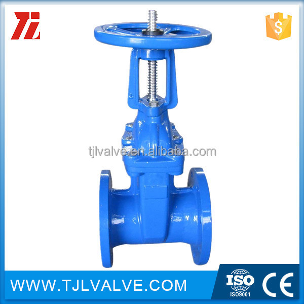 rising Casting din cast iron gate valve f4 f4 metal seat epoxy coating rising stem Water Low Pressure