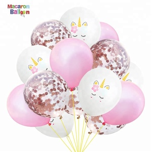 Unique Unicorn Theme Party Decoration Baby Event Party Supplies White Latex Balloons KK400
