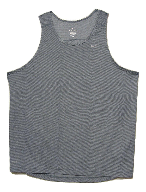 d51992206c6b7 Get Quotations · Nike Men s Printed Miler Running Singlet Dri-Fit Tank Top