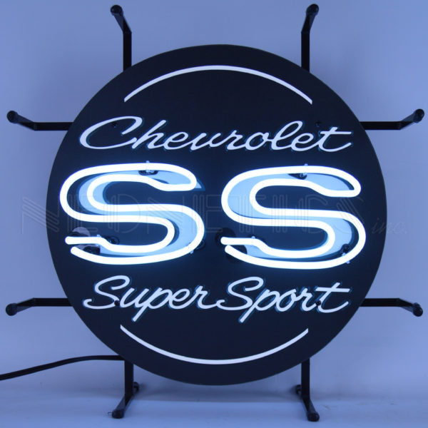 Chevorlet SS Super Sport Junior NEON SIGN Custom Made Lampu NEON SIGN Tabung Kaca
