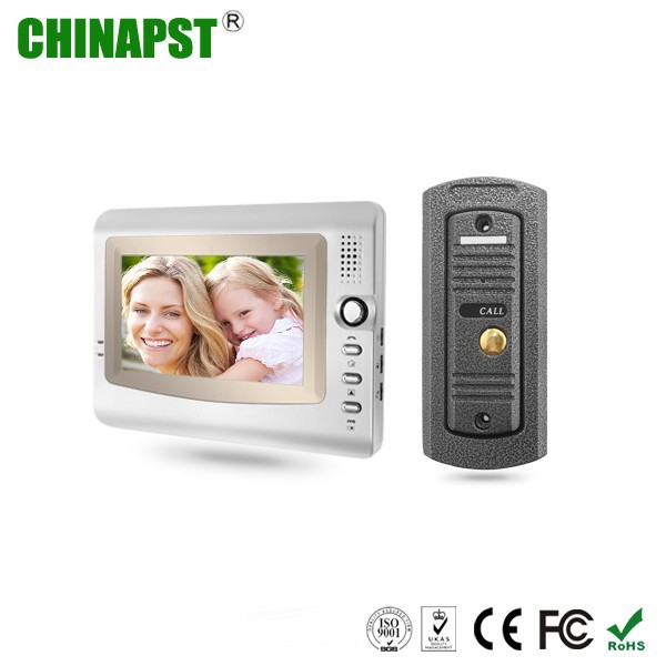 Touch Key Video Door Phone DoorBell Intercom Monitors System Home security Outdoor camera Video Door Phone PST-VD973C