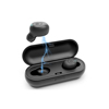 Rambotech Stereo Sport Retractable True Earbuds RX18 with Mic and Noise-isolating Headphones,Ergonomic Comfort-Fit for Running