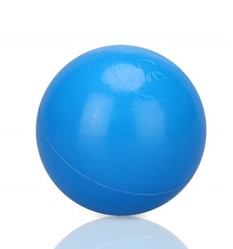 127mm Big Size Blue Plastic Elastic Ball