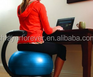 Office Chair Replacement Exercise Fitness Ball To Train ...