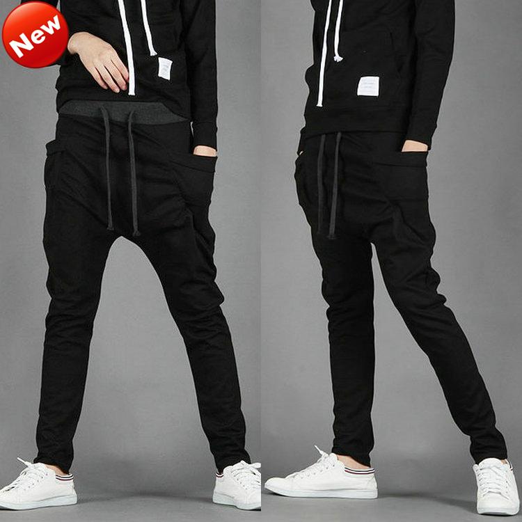 Hip hop harem pants for boys