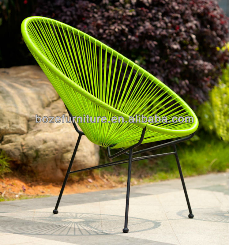 New Design Garden Rattan Acapulco Chair Outdoor Oval Egg Chair   Buy  Acapulco Chair,Rattan Chair,Oval Egg Chair Product On Alibaba.com