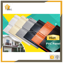 1.0 mm thick 15 color options plastic products wood grain texture PVC vinyl internal wall kitchen panel