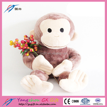 Excellent quality stuffed monkey plush soft toy