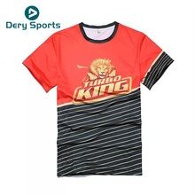 Quick Dry T-shirts 100% Polyester T clothes Mens Moisture Wicking Sublimation T Shirt