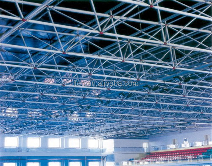 Prefabricated Light Stainless Steel Structure Gymnasium&Stadium