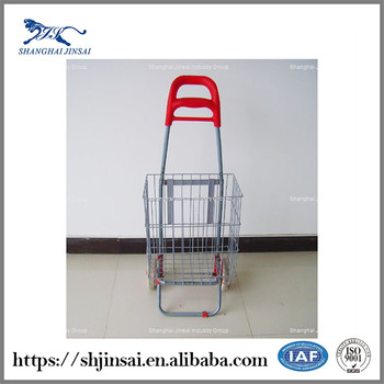 plastic metal kids toy shopping cart