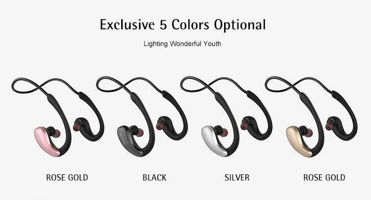 A885BL Awei Smartphone Microphone Headphone Original Hot Products Wireless Earphone 2017