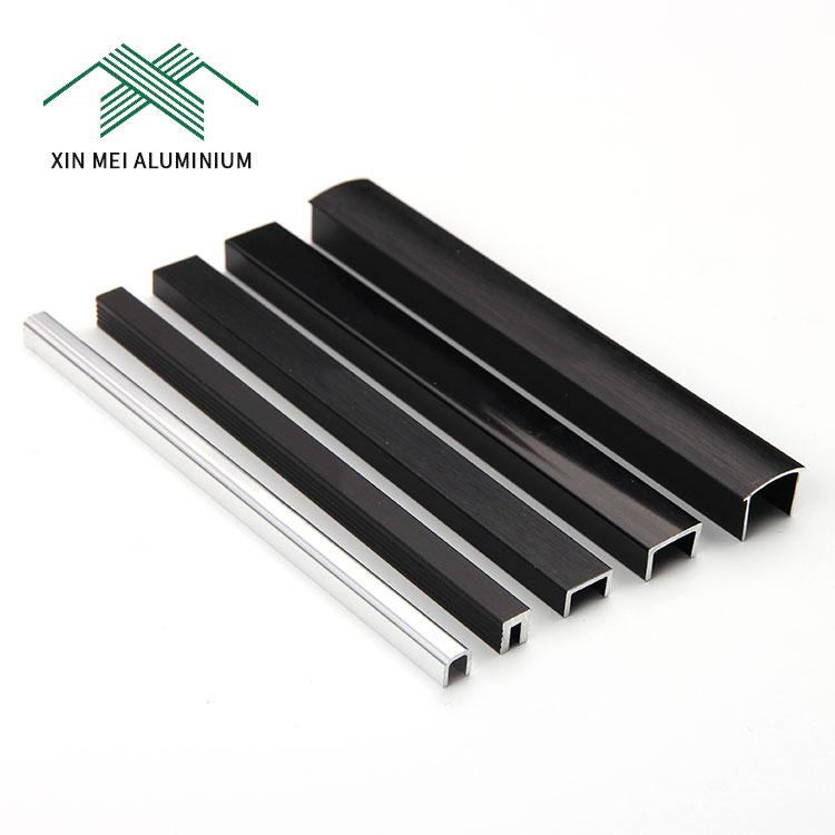 Best Selling Products Bathroom Corner Edge Trim Aluminum Black Tile Edging