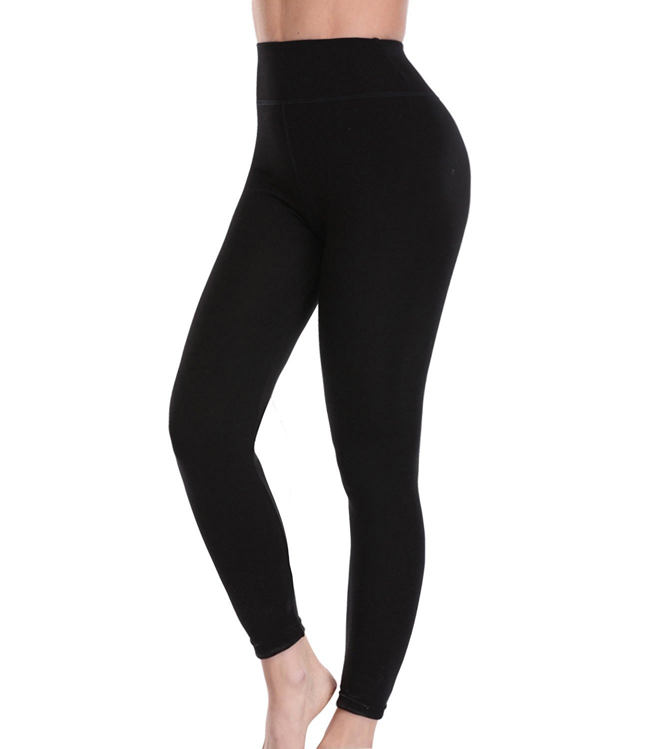 0eda9fcdde Get Quotations · LANFEI Women Warm Fleece Lined Leggings Stretchy Soft Yoga  Pants