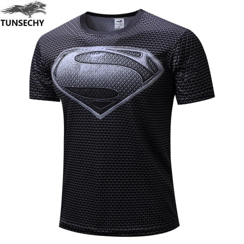 Compra superman camiseta online al por mayor de China