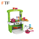 Good Quality Plastic Kitchen set for Girls Pretend Role Play