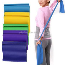 Super Exercise Band 7 ft. Resistance Flat Bands Latex Home Gym Fitness Equipment