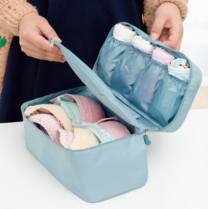 Waterproof Multi pocket travel underwear storage toiletry bags
